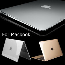 "Clear Glossy Crystal Slim Hard Shell Case Cover for MacBook 2015 New 12"" A1534"