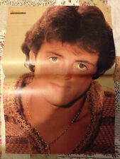 SYLVESTER STALLONE / FALCO - DOUBLE-SIDED POSTER FROM BRAVO MAGAZINE