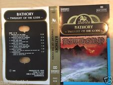 BATHORY Twilight of the Gods MC RARE POLISH PRESS 1991 GOLD LETTERS