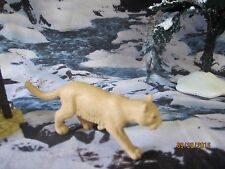 "TRAIN GARDEN HOUSE VILLAGE ANIMAL "" WILD COUGAR/ MT LION "" + DEPT 56/LEMAX info!"