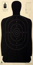 """Official NRA B-27 [B27] silhouette targets [23"""" x 45""""] (100 targets)"""