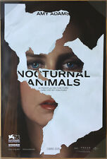 NOCTURNAL ANIMALS MOVIE POSTER 2 Sided ORIGINAL Advance 27x40 AMY ADAMS