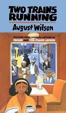 Drama, Plume: Two Trains Running by August Wilson (1993, Paperback)