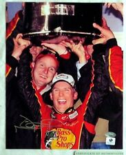 JAMIE MCMURRAY SIGNED AUTOGRAPH 8x10 NASCAR RACING PHOTO SMC COA & GA STICKER
