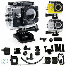 12MP HD 1080P Car Bike Helmet Cam Sports DV Action Waterproof Camera SJ4000