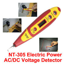 NT-305 Digital Test Pen AC/DC Voltage Detector Sensor Test Meter Electric Power