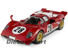 HOTWHEELS ELITE N2047 1:18 1970 FERRARI 512 S 24H OF DAYTONA NEW DIECAST RED #28