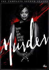 How to Get Away with Murder Second Season 2 Two (DVD 2016, 4-Disc Set)