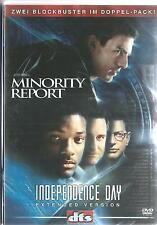 DVD - Minority Report / Independence Day - 2 DVDs / #3725
