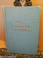 1900 History of First New York Dragoons~Civil War~J R Bowen~WITH REUNION CARD