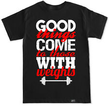 GOOD THINGS WORKOUT BEAST DEAD LIFT SQUAT GYM FITNESS T SHIRT FIT BEAST BENCH