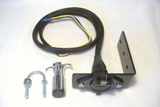 Sidecar Wire Quick Connector 6 Pin/Pole Harness & Mounting Bracket Motorcycle