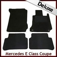 Tailored Carpet Mats LUX 1300g for MERCEDES E Class Coupe C207 2009-2012 BLACK