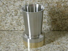 Westec 1995 Trophy Award Cup Stainless Steel with Brass Base by Komet of America