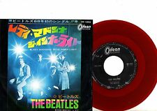 BEATLES 7'' PS The Inner Light Japan RED WAX OR 1902 rare Japanese RED VINYL 45
