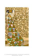 Gustav Klimt Erwartung Poster Kunstdruck Bild 41x25cm - Kostenloser Versand
