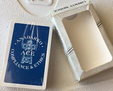 ANADARKO OIL GAS DECK OF PLAYING CARDS - COMPLIANCE & ETHICS NEW LIBERTY BRIDGE
