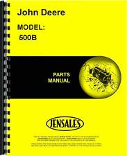 John Deere 500B Tractor Loader Backhoe Parts Manual