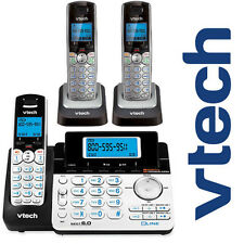 Vtech DS6151 DECT 6.0 2-Line Cordless Phone with 2 DS6101 Telephone Bundle Set