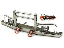 Integy Alum V2 Billet Machined Front Bumper w/ LED for Axial SCX10 Dingo/Honcho