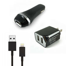 Car Charger & Wall Charger & USB Data Cable For Apple iPod touch 5th generation