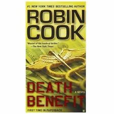 Death Benefit by Robin Cook (2012, Paperback)