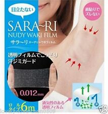 Sara-ri Nudy Armpit Sticker Underarm liner guard sweat stain film roll type 6m