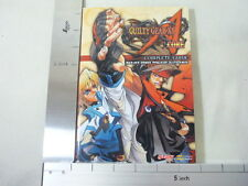 GUILTY GEAR XX A CORE Guide Book PS2 SB*