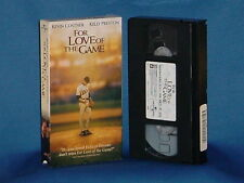 KEVIN COSTNER KELLY PRESTON For Love Of The Game VHS