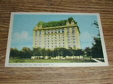 Fort Garry Hotel, Winnipeg, Manitoba Canada Postcard