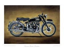 Motorcycle Limited Edition Print - Vincent Black Shadow