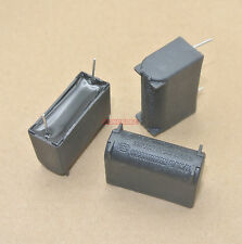 5pcs 4uF 275VAC MKP X2 Induction Cooker Jumper Wire Smoothing Filter Capacitor