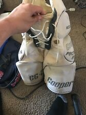 Cooper CG2 hockey girdle pads senior size medium sr used Vtg rare Cooperall