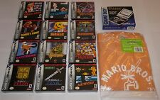 NINTENDO Game Boy Advance SP Classic NES Series COMPLETE SET Zelda Mario Metroid