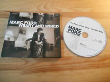 CD rock Mark Ford-weary and wired (15 chanson) promo provogue/Blues Bureau