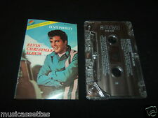 ELVIS PRESLEY ELVIS' CHRISTMAS ALBUM 2ND PRESS AUSTRALIAN CASSETTE TAPE