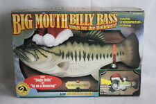 Big Mouth Billy Bass Sings for the Holiday Motion activated Sings Jingle Bells