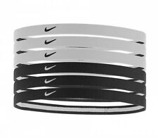 Nike Swoosh Sport Headbands 6-pack (Black/White) 82479