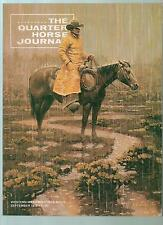 THE QUARTER HORSE JOURNAL SEPTEMBER 1978 WESTERN WEAR AND TACK ISSUE