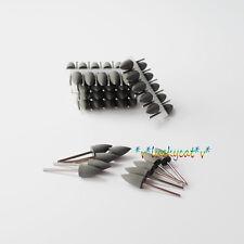 60× Colorful Dental SILICONE Polishers Resin Base Acrylic Polishing Burs