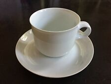 Hutschenreuther Germany Bianca Tavola Line Porcelain Cup & Saucer