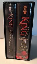 Stephen King DARK TOWER VI & VII-SONG OF SUSANNAH & THE DARK TOWER Signed 1st