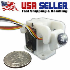 Racing Servo Tilt Gimbal & HD Micro Camera - 135 Degree Tilt- Wide Angle Camera