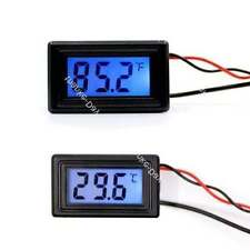 Digital Thermometer Temperature Meter Fahrenheit Centigrade -58~230F 12v 24v car