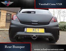Vauxhall Corsa VXR Rear Bumper for Corsa D