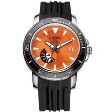 JIUSKO Deep Sea Men's Automatic Titanium 300m Silicone Dive Watch 75LSB1202
