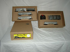 AMERICAN FLYER CUSTOM SET BOX ONLY FOR 356 SILVER BULLET( NO TRAINS)