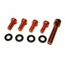 gobike88 MOWA Headset Bolt + Bottle Cage Bolts, Orange, 974