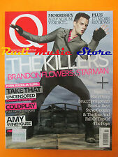 Q Magazine 272/2009 Killers Amy Winehouse Katy Perry Starsailor Take That  No cd