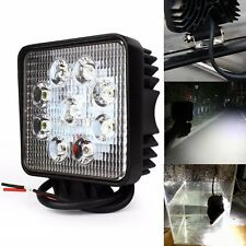 2Pcs 27W FLOOD Lamp Led Work Light Bar Car Boat Truck Offroad SUV 4 Inch 12V 24V